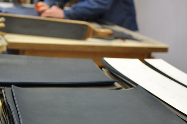 All leathers are sourced in France, every product is handmade by skilled crafstmen.