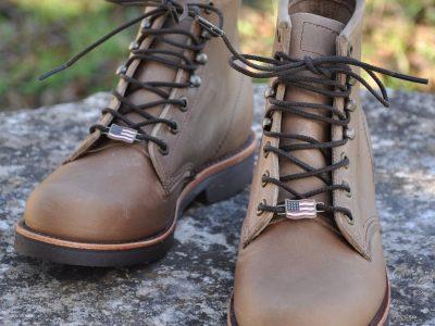 Chaussures montantes Chippewa en cuir. Idéale pour tous les jours, pour la moto. Vendues dans notre magasin.