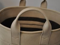 Cowhide bag for woman. French luxury leather goods designer. LE NOËN
